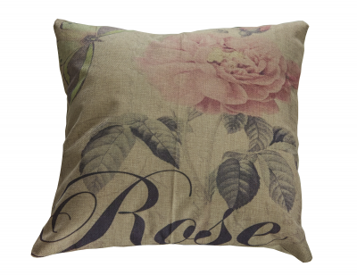 Perna decorativa, model Vintage Rose, 43 x 43 cm